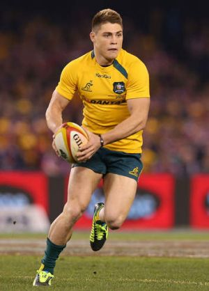 General: Wallabies No.10 James O'Connor has a crucial role to play tonight.