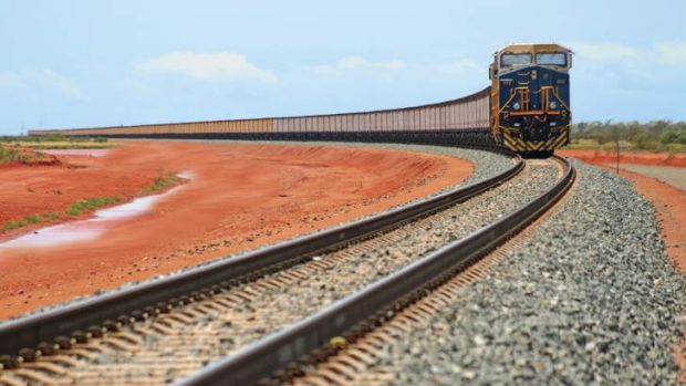 Passengers not welcome: Fortescue is arguing against Brockman Mining's use of its iron ore railway.