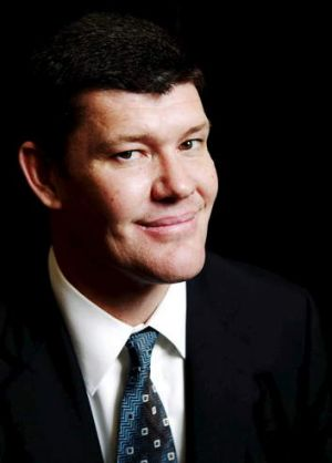 Spending big: James Packer.