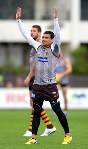 Cyril Rioli has come back into the team at the right time.