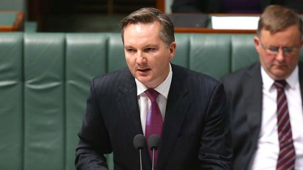 Standing by budget forecasts: Chris Bowen.