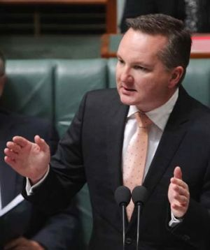 """""""We need to consider all sorts of measures to reduce the impact of cancer caused by smoking"""": Chris Bowen."""