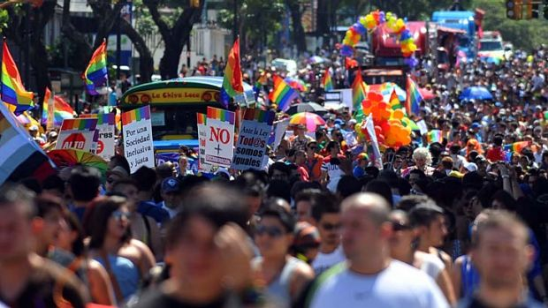 Same-sex unions legal: Gay rights activists in Costa Rica have hailed the new law as a turning point.