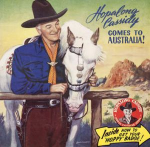 Matinee hero William Boyd, aka Hopalong Cassidy.