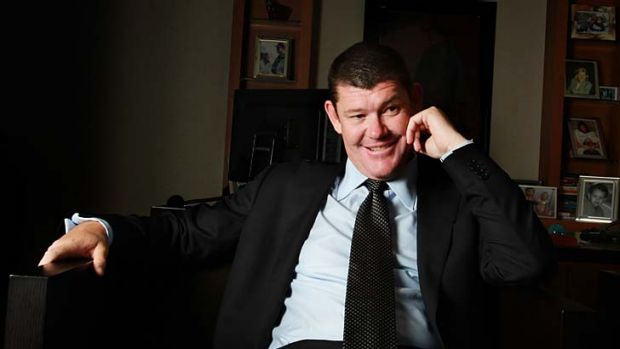 Winner: James Packer has the support of the NSW government to open a new Sydney resort.