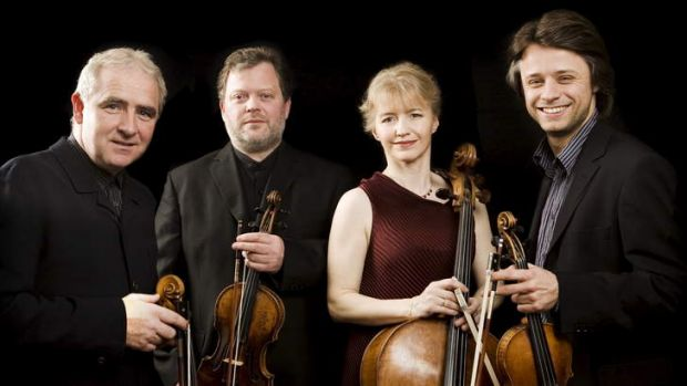 The Brodsky Quartet gave a strong performance.