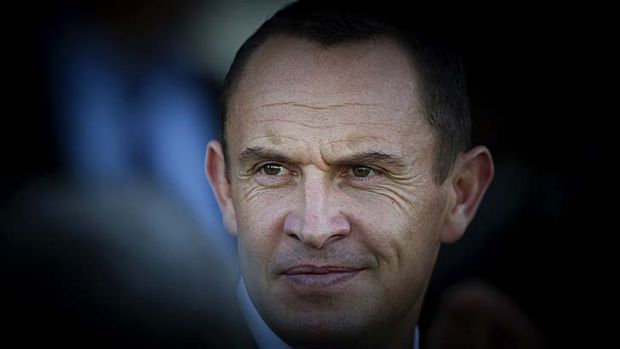 Keen to bolster his presence in Melbourne: Trainer Chris Waller.