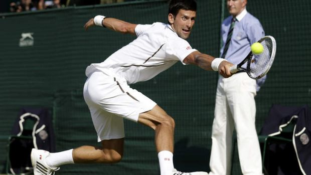 Beaten: Novak Djokovic.
