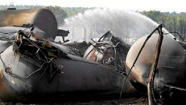 Rail transport of oil is likely to be scrutinised after the Canadian disaster.