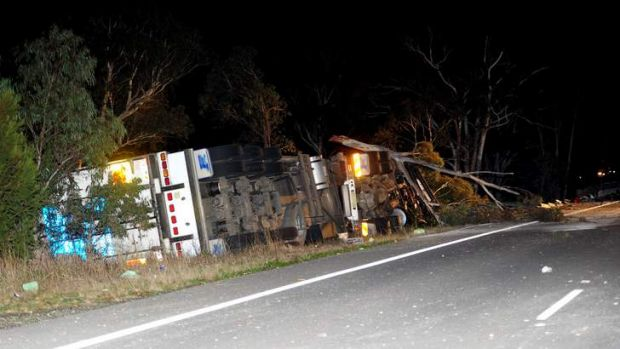 A fatality on the Hume Highway about 20km south of Marulan.