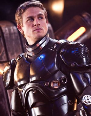 Charlie Hunnam in <i>Pacific Rim</i>.