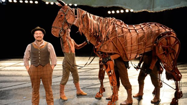 Warhorse tells the story of Albert, an English boy who loses his beloved horse Joey to the war effort in 1914, and goes ...