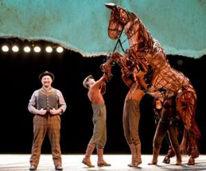 Made out of steel, leather and cables by South Africa's Handspring Puppet Company, the creatures in Wahorse trot and ...