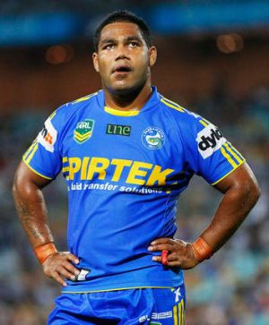 Dumped: Parramatta playmaker Chris Sandow will play for Wentworthville in the NSW Cup this weekend.