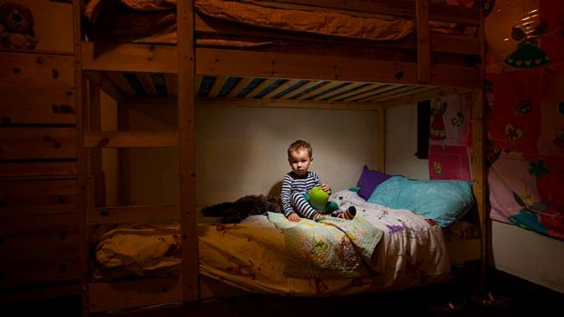 Sleep tight: Young children like Eddie Pryde need regular sleep patterns or development can be disrupted, new research ...