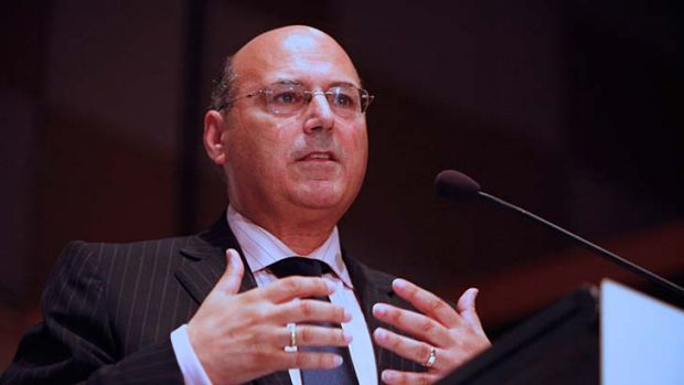Performance tool: Arthur Sinodinos defended the Howard government scheme.