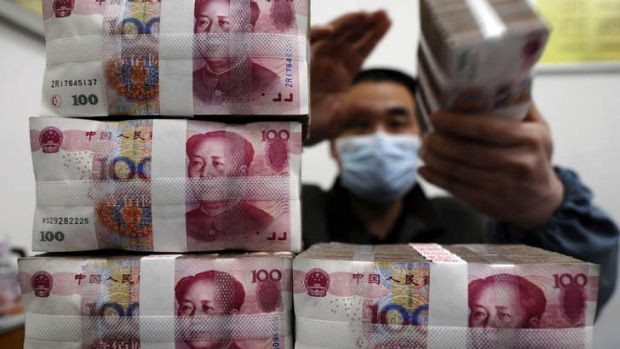 Money to be made: Shadow banking is now worth an estimated $5.5 trillion in China.