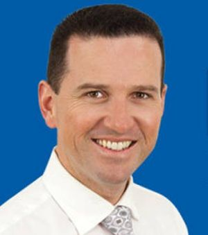 LNP candidate for Moreton Malcolm Cole.