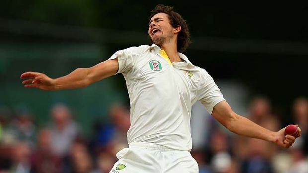 Ashes ambition: Ashton Agar wants his place back in the Australian side.