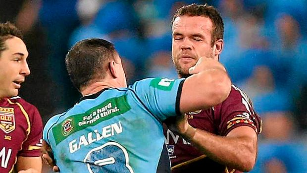 Bin the biff: A leading medical expert has called on players to leave out the biff, saying Origin is tough enough as it is.