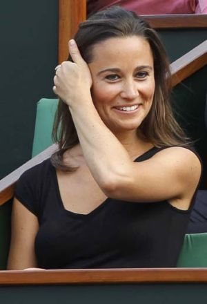 Possible TV career in the US: Pippa Middleton.