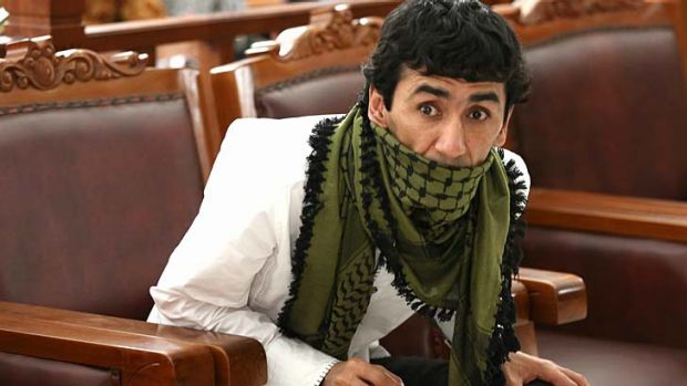 Set free: Sayed Abbas in court in Jakarta.