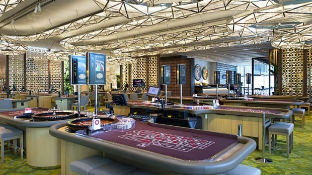 VIPs only: Crown Sydney will be modelled on Melbourne casino's Mahogany Room.
