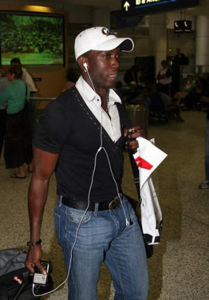 Back in town: Dwight York.