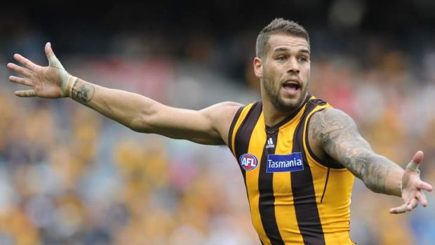 Buddy system: the Giants have indicated they want to sign Hawthorn star Lance Franklin.