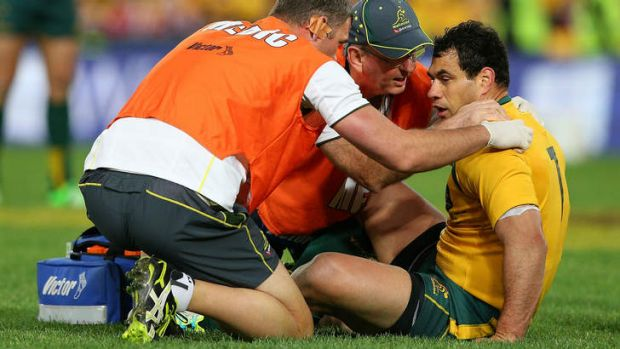 """""""He's on the bench because it's the best call for our team going forward"""": Brumbies coach Jake White on George Smith, ..."""