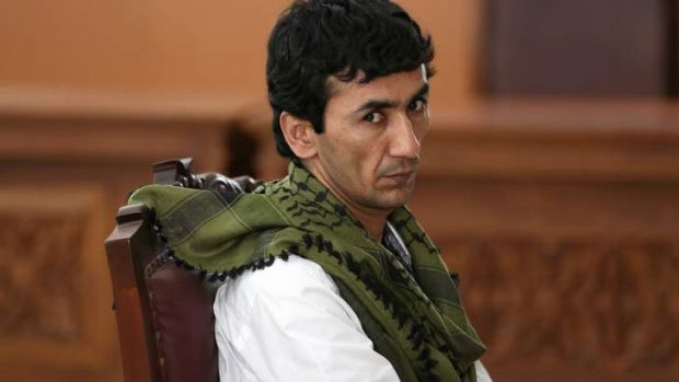 Afghanistan bound: Sayed Abbas has been released by a Jakarta court.