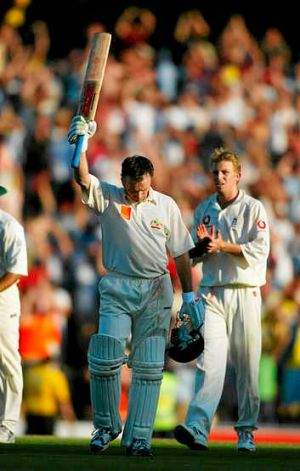 Inspiration: Steve Waugh's perfect day at the SCG in 2003.