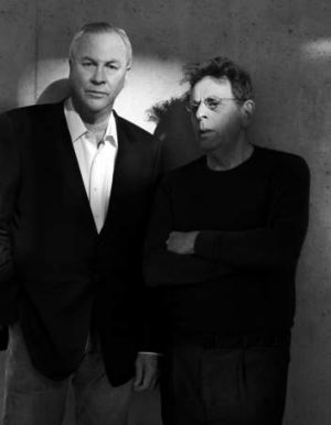 Creators Robert Wilson (left) and Philip Glass.
