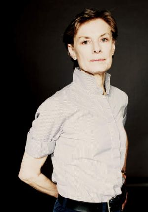 Choreographer Lucinda Childs.