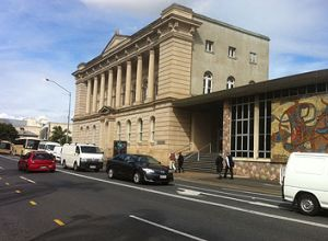 William Street outside the old State Library.