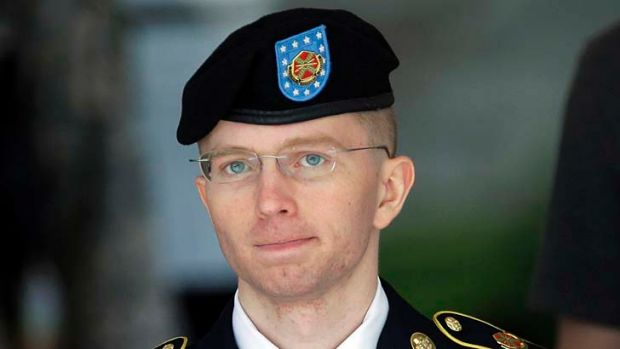 "A ""funny little character"": Whistleblower Bradley Manning."