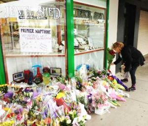The jewellery shop's Facebook page was flooded with messages of sympathy.