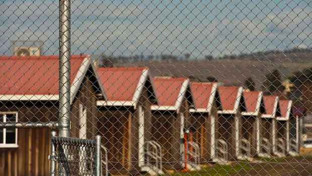 No place for a child: Pontville Immigration Detention Centre near Hobart, Tasmania.
