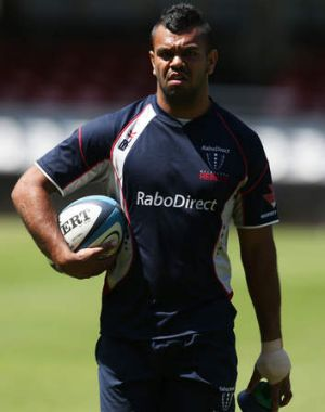 """You shouldn't be doing that to make yourself look good"": Waratahs coach Michael Cheika on the Rebels announcement that ..."