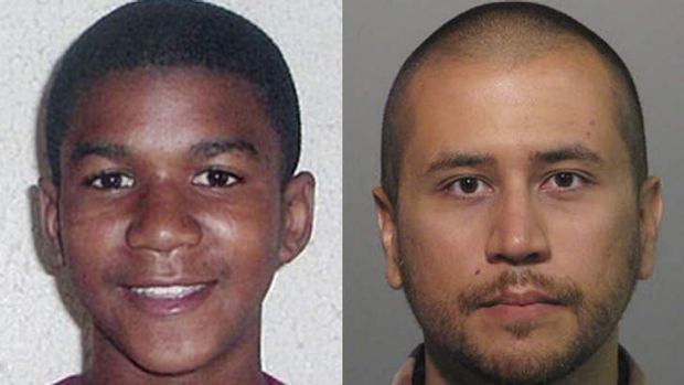 This combo image shows Trayvon Martin, left, and George Zimmerman.
