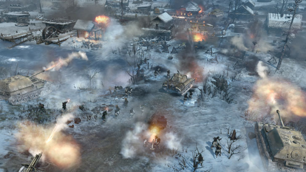 The brutal environment is well represented on the snowy maps.