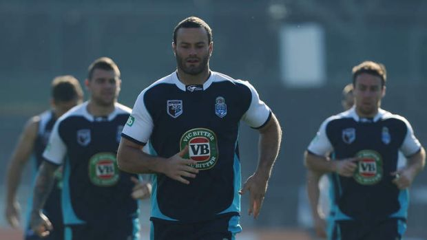 Rare Boyd: Back-rower Boyd Cordner has impressed with his attitude around NSW's Origin camp and his selection shows ...