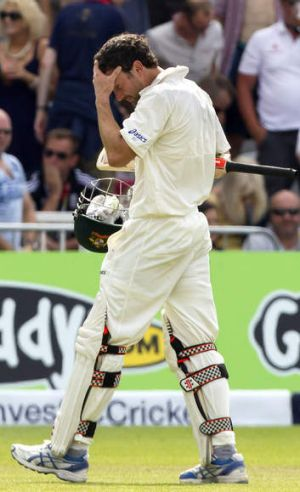 """""""He'll be disappointed with the shots. So are we"""": Australian coach Darren Lehmann on Ed Cowan's first Test performance."""