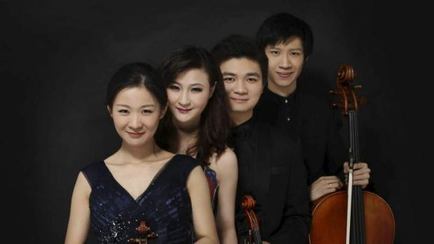 China's Amber Quartet stood out for its refined and focused reading of Debussy's String Quartet in G minor, Opus 10.