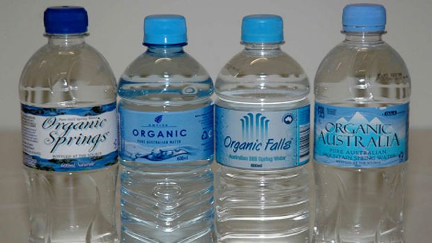 """Water cannot be organic"": A number of bottled water companies will stop advertising their products as ''organic''."