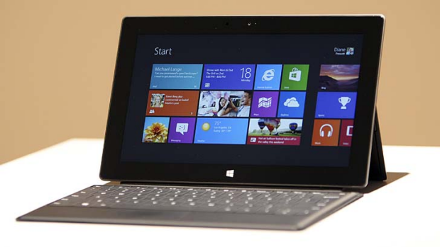 Price cut: Microsoft's Surface RT tablet.