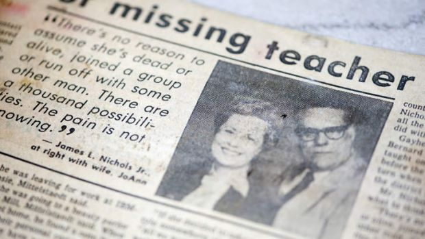 A newspaper story about JoAnn Nichols from 1985 in The Poughkeepsie Journal, Poughkeepsie, New York.