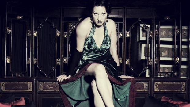Proud of the attention she got in Australia ... Amanda Palmer talks to Fairfax about performing in the buff.