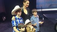 Ricki-Lee Coulter at the Ekka launch