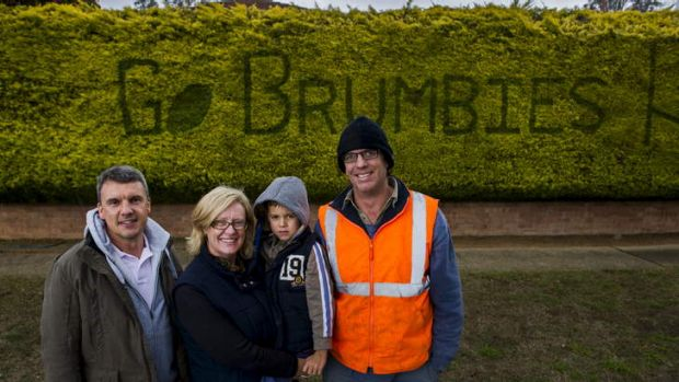 Family of Peter Pearson, Symon Hoy, Philippa Hoy, Sam Hoy (5), and Matthew Pearson have continued his tradition of ...